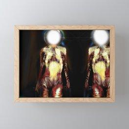 Shiny happy people Framed Mini Art Print