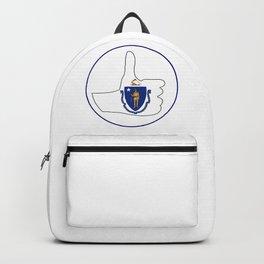 Thumbs Up Massachusetts Backpack