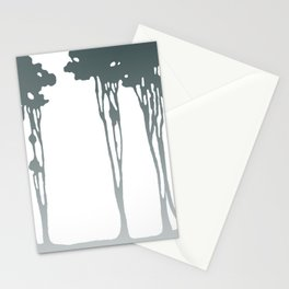 Trees in the Mist Stationery Cards
