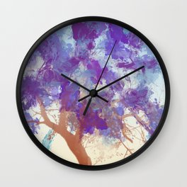 Water Your Tree of Life. Wall Clock