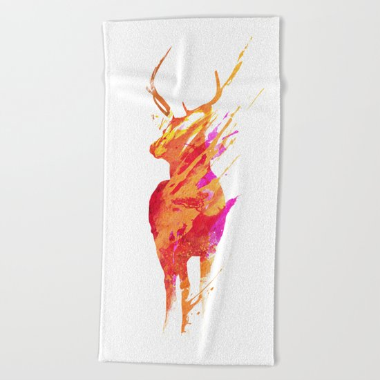 On the road again Beach Towel