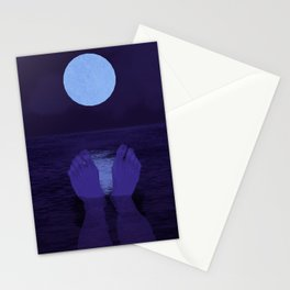 The Midnight Moon Stationery Cards