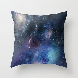Space Design Throw Pillow