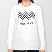 twin peaks Long Sleeve T-shirts featuring Twin Peaks by BITN