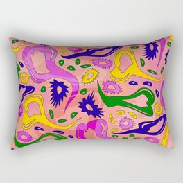 Oh My Hearts and Stars! Rectangular Pillow