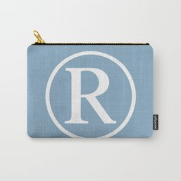 Registered Trademark Sign on placid blue background Carry-All Pouch