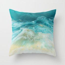 Island Bliss Throw Pillow
