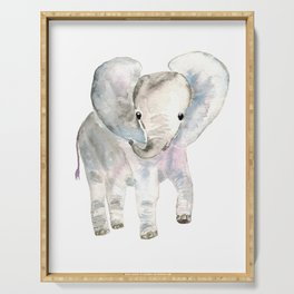 Sweet Baby Elephant Serving Tray