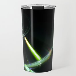 Stack of Compact Discs Abstract 7 Travel Mug