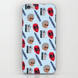 red hero iPhone Skin