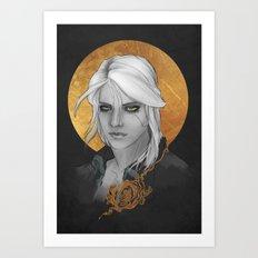 Ciri -The Witcher Art Print