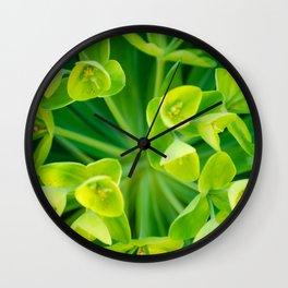 Spring Green Wall Clock