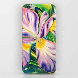 White Iris of Belize iPhone Skin