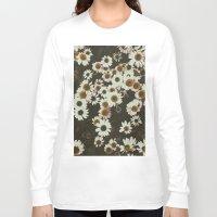 leah flores Long Sleeve T-shirts featuring Flores by Gabriel Sul