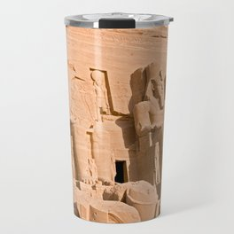 Great Temple of Abu Simbel Travel Mug