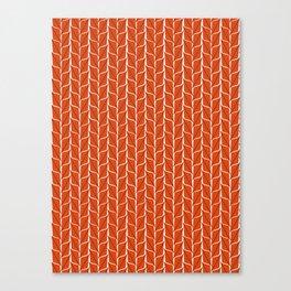 Rusty Leaf Canvas Print