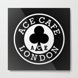ace cafe london Metal Print