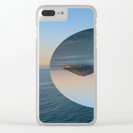 Slice of Island Clear iPhone Case