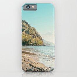 Kee Beach, Hawaii Travel Photography iPhone Case