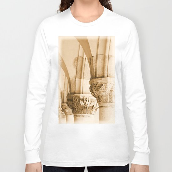 Basilica Venice Arch detail Long Sleeve T-shirt