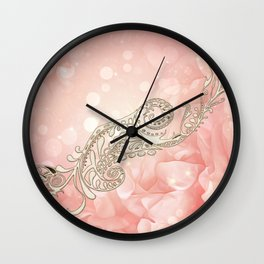 Beautiful flowers Wall Clock