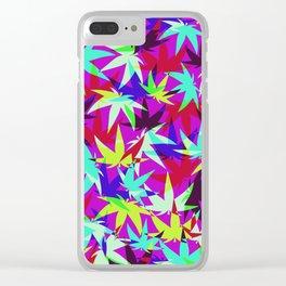 Grape Skunk Clear iPhone Case