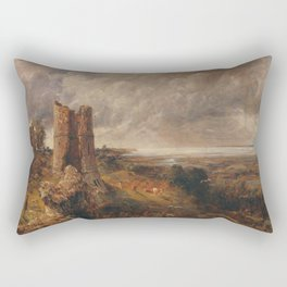 "John Constable ""Hadleigh Castle, The Mouth of the Thames-Morning after a Stormy Night"" Rectangular Pillow"