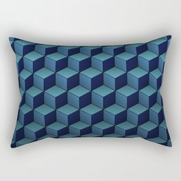 Game of Cubes - Sky before rain Rectangular Pillow