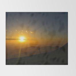 Alpine Sunset Throw Blanket