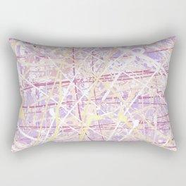 Flight of Color - Lilac Rectangular Pillow