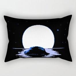 The Whispering Moon Rectangular Pillow