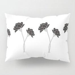 Flower Stems Pillow Sham