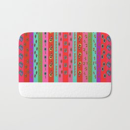 Bright Borders Bath Mat