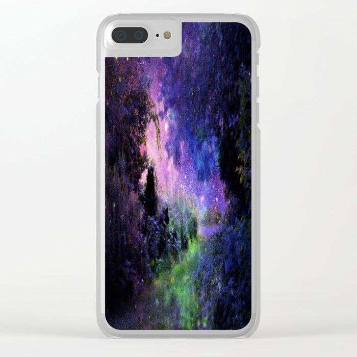 Fantasy Path Night Clear iPhone Case