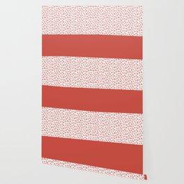Triangles Fiesta Red Wallpaper