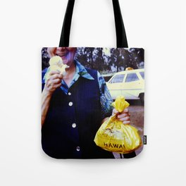 Hawaii Ice Cream Tote Bag