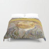 van gogh Duvet Covers featuring Van Gogh by Palazzo Art Gallery