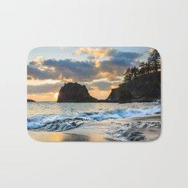 Secret Beach Sunset Bath Mat