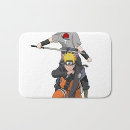 Fan Art Naruto Anime Bath Mat