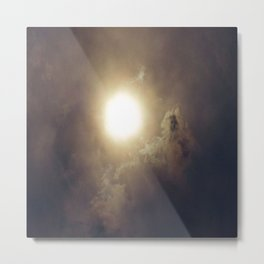 Sun After The Eclipse Metal Print