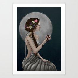 Goddess Persephone Art Print