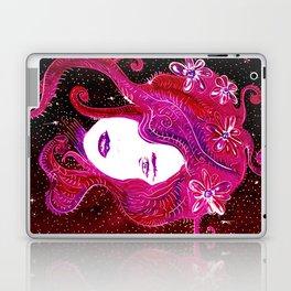 Flower Power SpaceGirl Laptop & iPad Skin