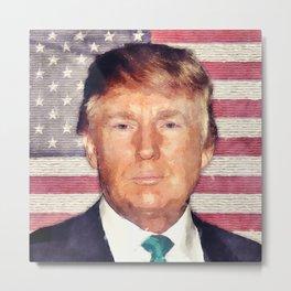 Donald Trump Patriot Metal Print