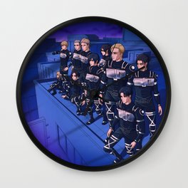 Devils of Paradis Wall Clock