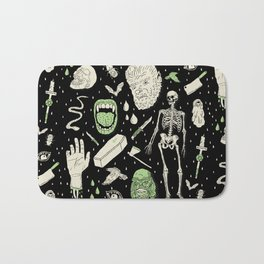 Whole Lotta Horror: BLK ed. Bath Mat