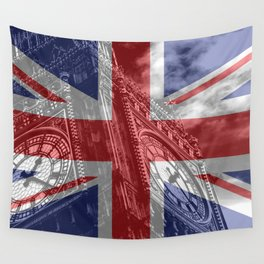 Big Ben - UK Flag Wall Tapestry