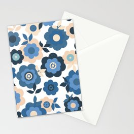 Eilin's Spring Flowers 6 Stationery Cards