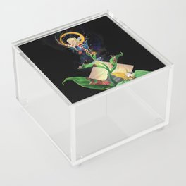 Moon fairy and the space scientists Acrylic Box