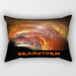 Brainstorm Rectangular Pillow
