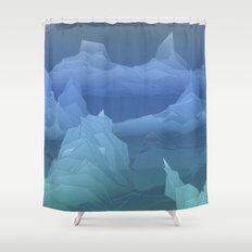Antarctica Shower Curtain